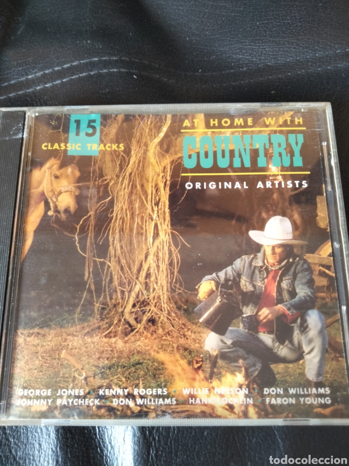 AT HOME WITH COUNTRY. CD (Música - CD's Country y Folk)