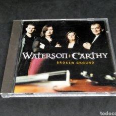 CDs de Música: WATERSON : CARTHY - BROKEN GROUND - 1999 - CD - DISCO VERIFICADO. Lote 287678693