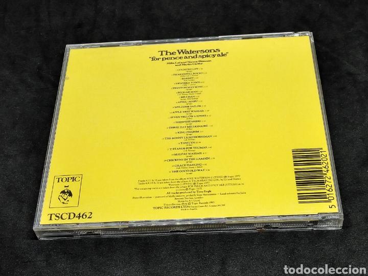 CDs de Música: THE WATERSONS - FOR PENCE AND SPICY ALE - 1993 1975 1977 - CD - DISCO VERIFICADO - MARTIN CARTHY - Foto 2 - 287681278