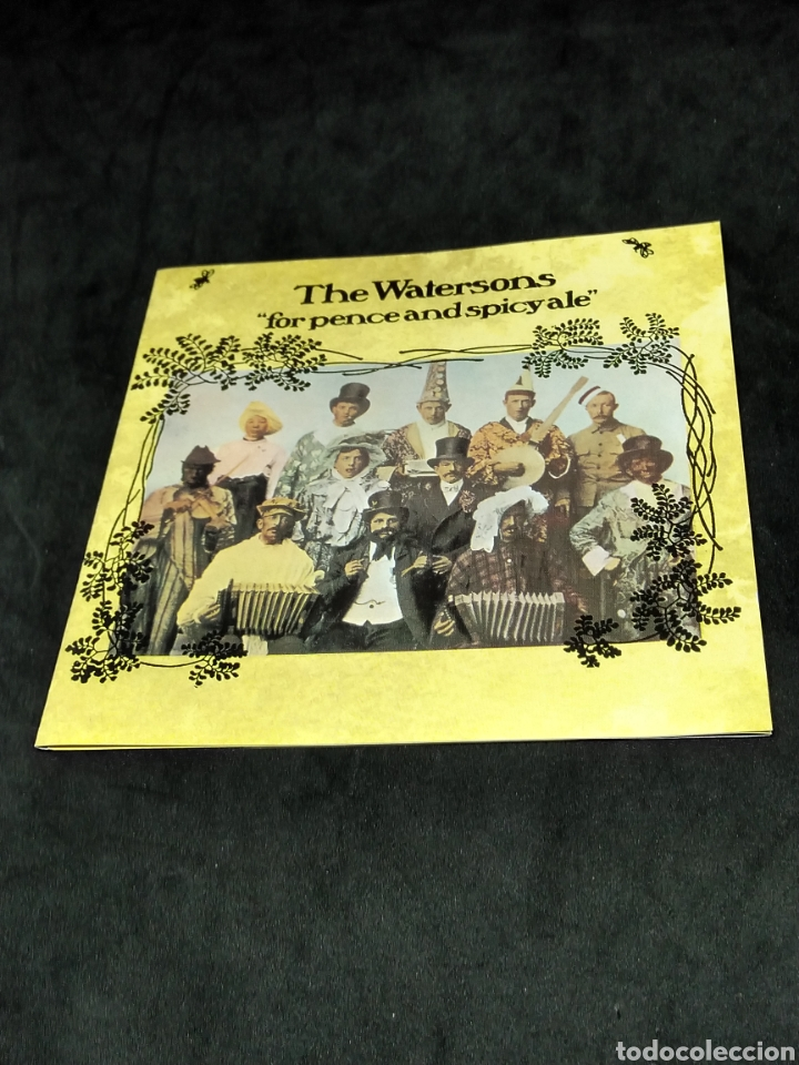 CDs de Música: THE WATERSONS - FOR PENCE AND SPICY ALE - 1993 1975 1977 - CD - DISCO VERIFICADO - MARTIN CARTHY - Foto 3 - 287681278