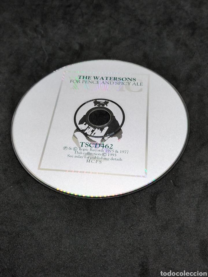 CDs de Música: THE WATERSONS - FOR PENCE AND SPICY ALE - 1993 1975 1977 - CD - DISCO VERIFICADO - MARTIN CARTHY - Foto 6 - 287681278