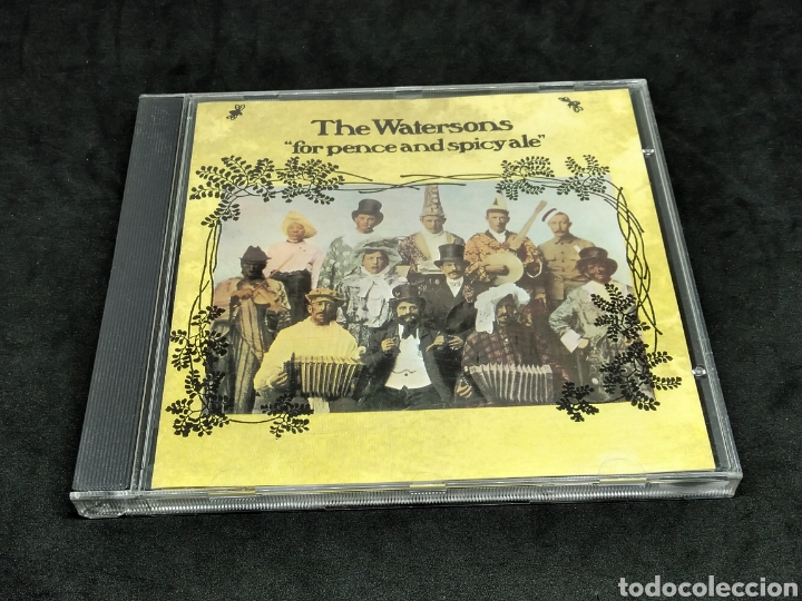 THE WATERSONS - FOR PENCE AND SPICY ALE - 1993 1975 1977 - CD - DISCO VERIFICADO - MARTIN CARTHY (Música - CD's Country y Folk)