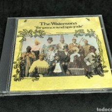 CDs de Música: THE WATERSONS - FOR PENCE AND SPICY ALE - 1993 1975 1977 - CD - DISCO VERIFICADO - MARTIN CARTHY. Lote 287681278