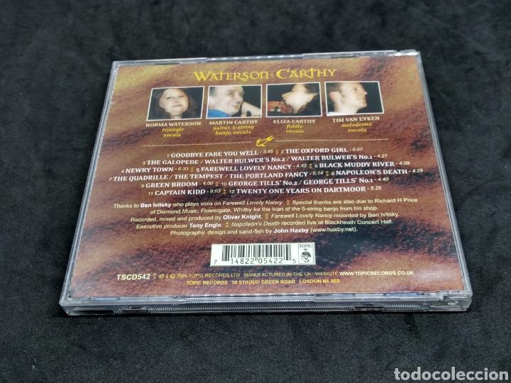 CDs de Música: WATERSON : CARTHY - FISHES & FINE YELLOW SAND - 2004 - CD - DISCO VERIFICADO - MARTIN CARTHY - Foto 2 - 287683988