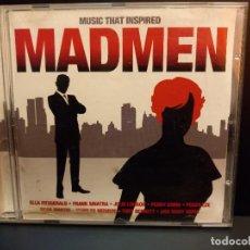 CDs de Música: MUSIC THAT INSPIRED MADMEN VARIOS DOBLE CD 2010 PEPETO. Lote 287699983