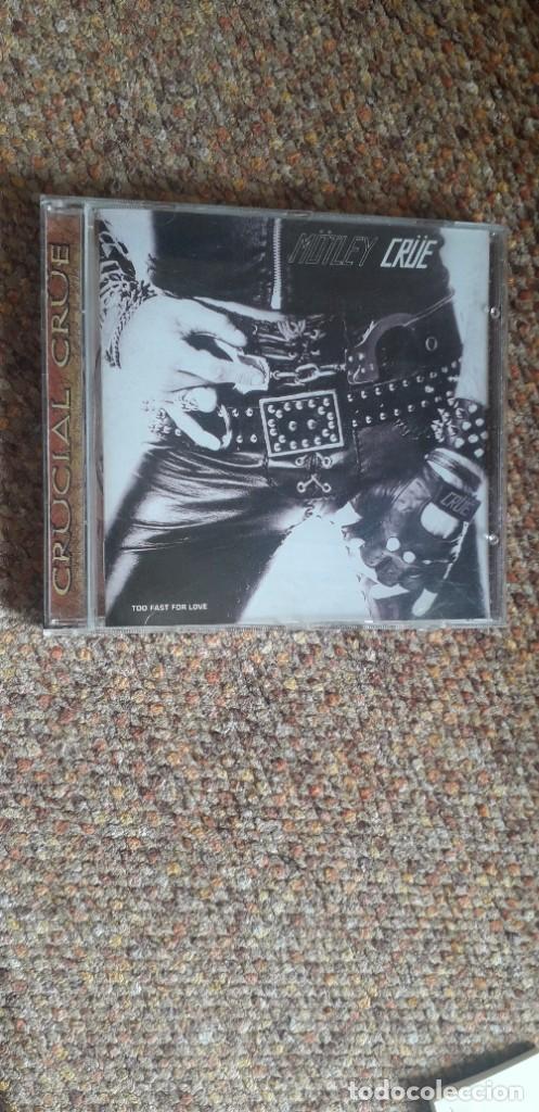 MOTLEY CRUE , TOO FAST FOR LOVE , CD RUSIA NO OFICIAL , PERFECTO ESTADO (Música - CD's Heavy Metal)