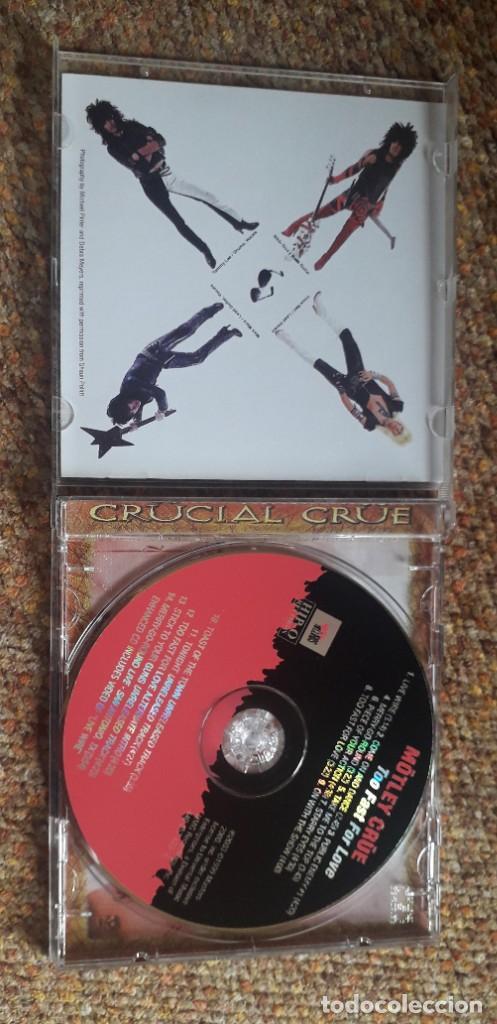 CDs de Música: Motley Crue , Too Fast for Love , CD Rusia no oficial , perfecto estado - Foto 3 - 287705083