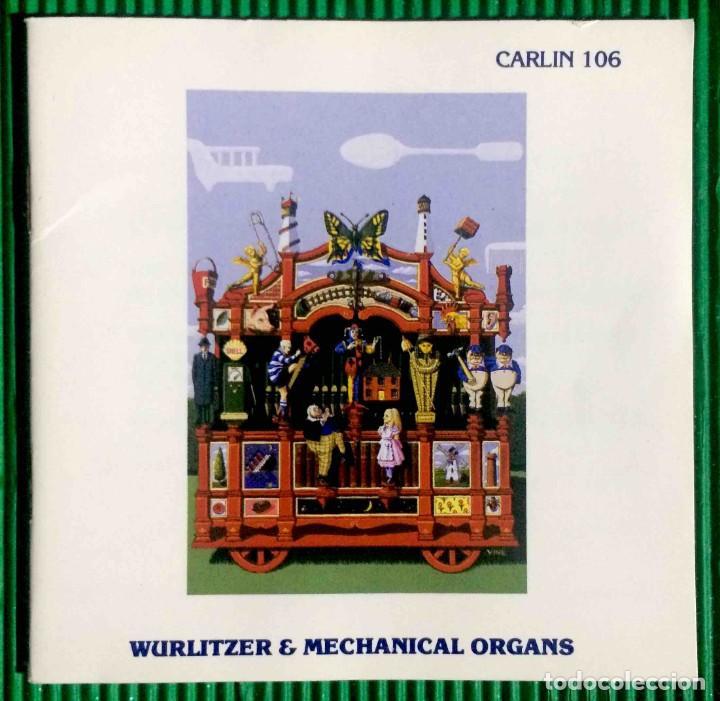 NICHOLAS MARTIN – WURLITZER & MECHANICAL ORGAN CARLIN RECORDED MUSIC LIBRARY (Música - CD's World Music)