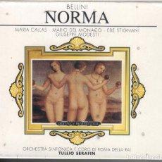 CDs de Música: NORMA: 2 CDS CALLAS; MARIO DEL MONACO NUEVO PRECINTADO.. Lote 287724193