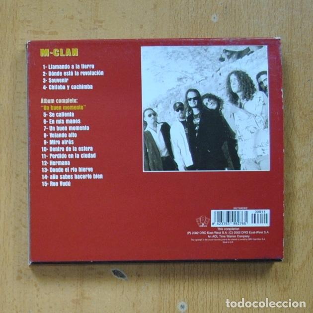 CDs de Música: M CLAN - UN BUEN MOMENTO - CD - Foto 2 - 287731763