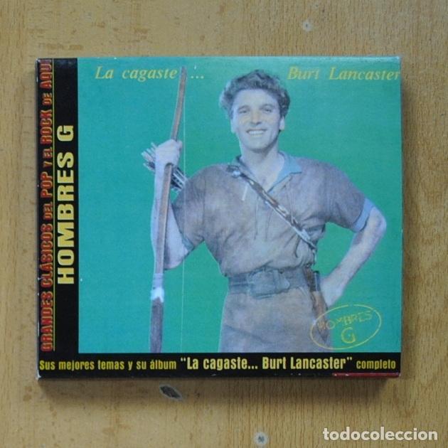 HOMBRES G - LA CAGASTE BURT LANCASTER - CD (Música - CD's Pop)