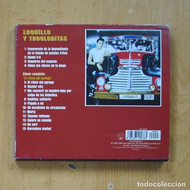 CDs de Música: LOQUILLO Y TROGLODITAS - EL RITMO DEL GARAGE - CD - Foto 2 - 287731778