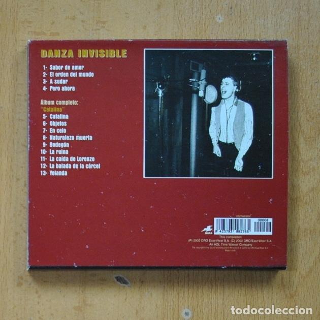 CDs de Música: DANZA INVISIBLE - CATALINA - CD - Foto 2 - 287731788