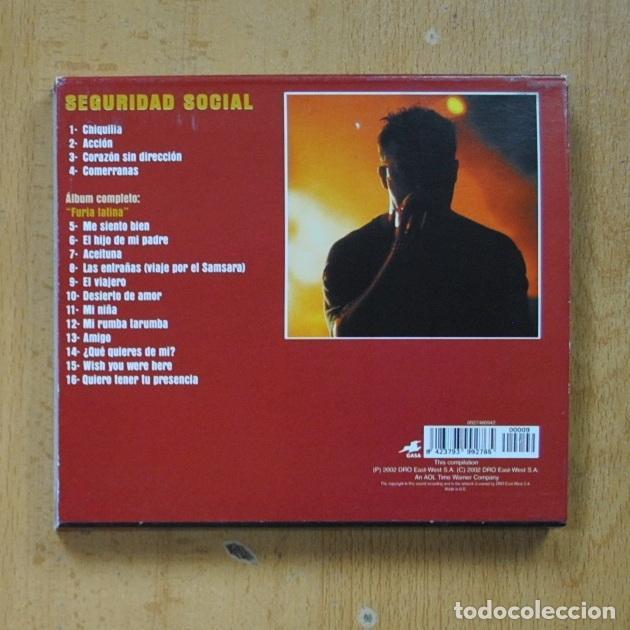 CDs de Música: SEGURIDAD SOCIAL - FURIA LATINA - CD - Foto 2 - 287731798