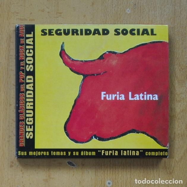 SEGURIDAD SOCIAL - FURIA LATINA - CD (Música - CD's Pop)