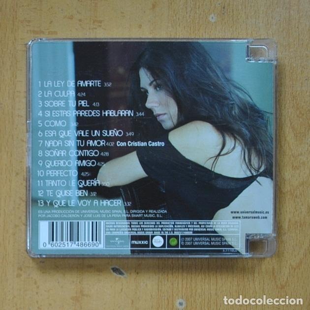 CDs de Música: TAMARA - PERFECTO - CD - Foto 2 - 287731853