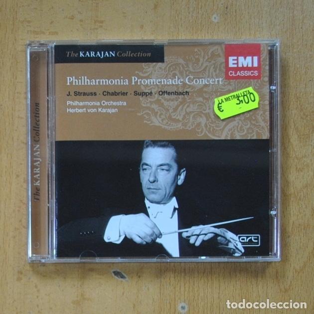 PHILHARMONIA PROMENADE CONCERT - KARAJAN COLLECTION - CD (Música - CD's Clásica, Ópera, Zarzuela y Marchas)