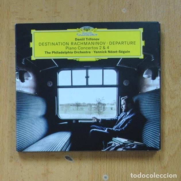 DANIIL TRIFONOV - DESTINATION RACHMANINOV DEPARTURE - CD (Música - CD's Clásica, Ópera, Zarzuela y Marchas)