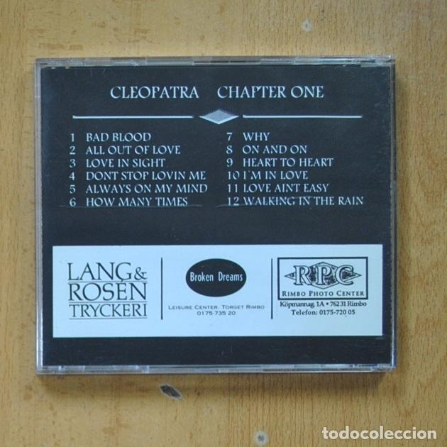 CDs de Música: CLEOPATRA - CHAPTER ONE - CD - Foto 2 - 287731913