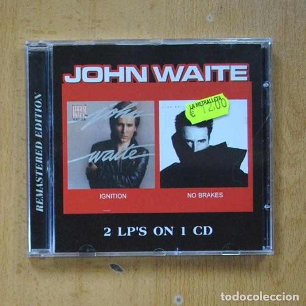 JOHN WAITE - IGNITION / NO BRAKES - CD (Música - CD's Rock)