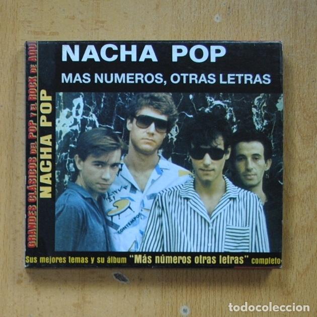 NACHA POP - MAS NUMEROS OTRAS LETRAS - CD (Música - CD's Pop)