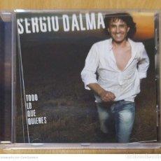 CDs de Música: SERGIO DALMA (TODO LO QUE QUIERES) CD 2005. Lote 287732838