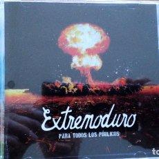 CDs de Música: EXTREMODURO PARA TODOS LOS PUBLICOS CD. Lote 287758298