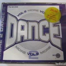 CDs de Música: DOBLE CD MORE DANCE 2. Lote 287759968