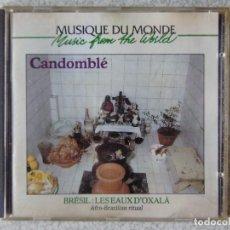CDs de Música: BRESIL.LES EAUX D´OXALÁ...ETNICA...AFRO-BRASILIAN RITUAL. Lote 287772853