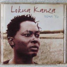 CDs de Música: LOKUA KANZA.WAPI YO...ETNICA AFRICA. Lote 287776063