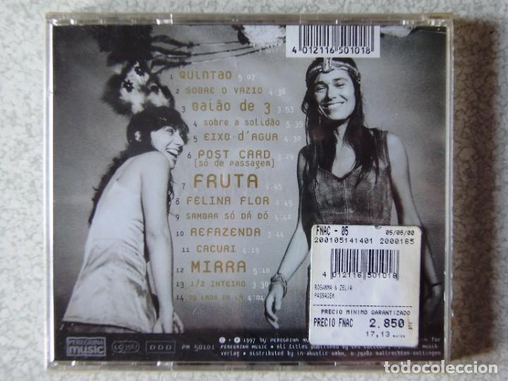CDs de Música: ROSANNA & ZÉLIA...PASSAGEM...ETNICA-POP..BRASIL...PRECINTADO - Foto 2 - 287776468