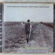 CDs de Música: AFRO-AMERICAN ESPIRITUALES...ETNICA..VV.AA. Lote 287777398