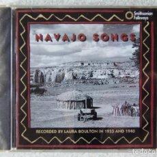 CDs de Música: NAVAJO SONGS...ETNICA USA. Lote 287779563