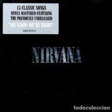 CDs de Música: C949 - NIRVANA. NIRVANA (RECOPILATORIO). CD. Lote 287786573