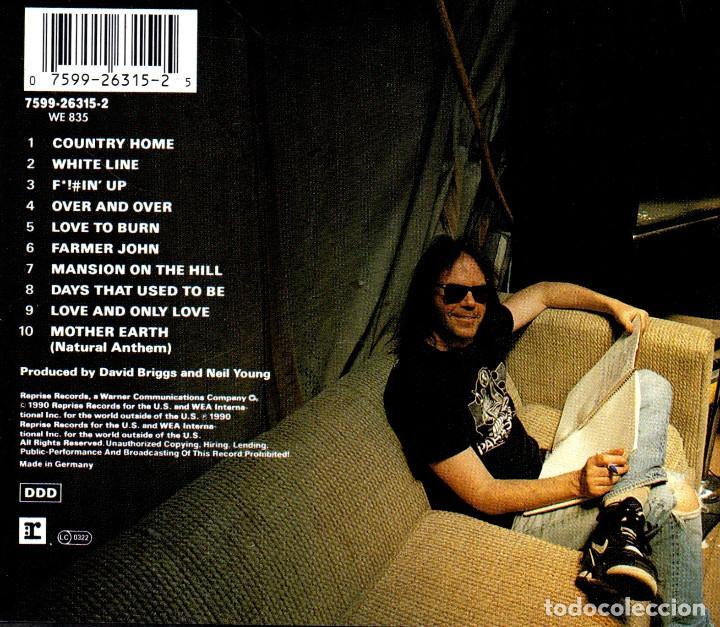 CDs de Música: C940 - NEIL YOUNG & CRAZY HORSE. RAGGED GLORY. CD - Foto 2 - 287793343