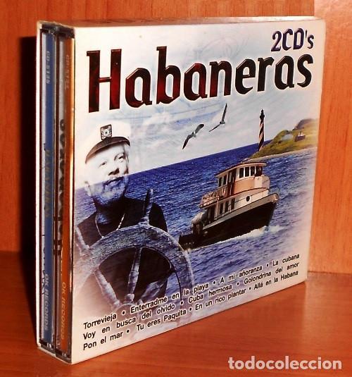 C955 - HABANERAS. RECOPILATORIO. DOBLE CD. (Música - CD's Latina)