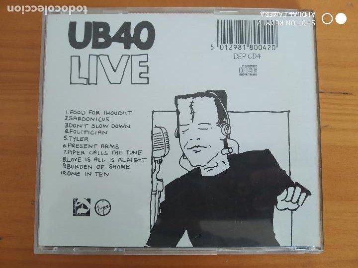 CDs de Música: CD UB40 - LIVE (HX) - Foto 2 - 287814103