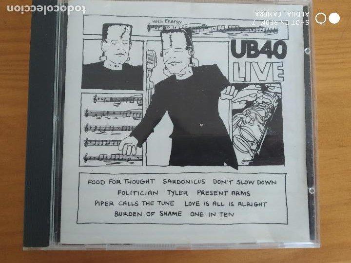 CD UB40 - LIVE (HX) (Música - CD's Reggae)