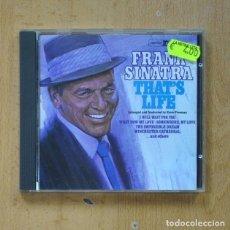CDs de Música: FRANK SINATRA - THATS LIFE - CD. Lote 287832768