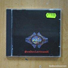 CDs de Música: BENITO LERTXUNDI ?– ALTABIZKAR & ITZALTZUKO BARDOARI - CD. Lote 287833748