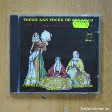 CDs de Música: VARIOS – TODAS LAS VOCES DE SEFARAD - CD. Lote 287833753