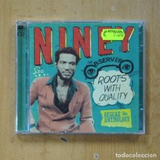 CDs de Música: NINEY THE OBSERVER ?- ROOTS WITH QUALITY - 2 CD. Lote 287834018