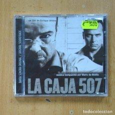 CDs de Musique: MARIO DE BENITO - LA CAJA 507 - CD. Lote 287835488