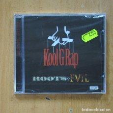 CD de Música: KOOL G RAP - ROOTS OF EVIL - CD. Lote 287835713