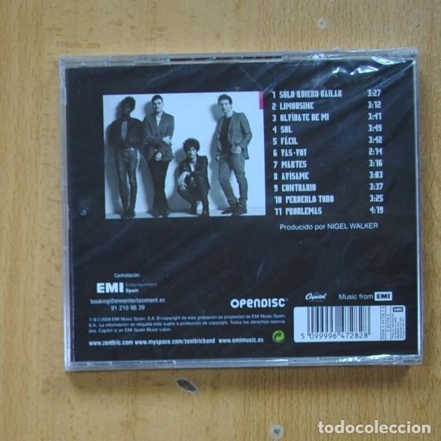 CDs de Música: ZENTTRIC - ZENTTRIC - CD - Foto 2 - 287835768