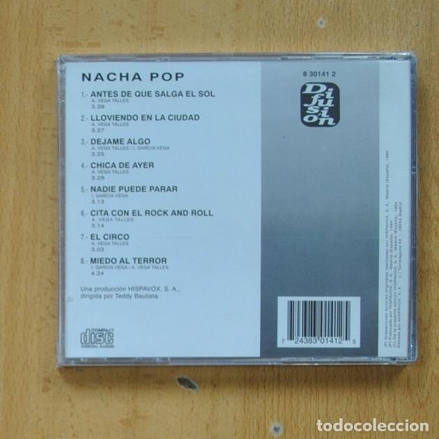 CDs de Música: NACHA POP - NACHA POP - CD - Foto 2 - 287835778