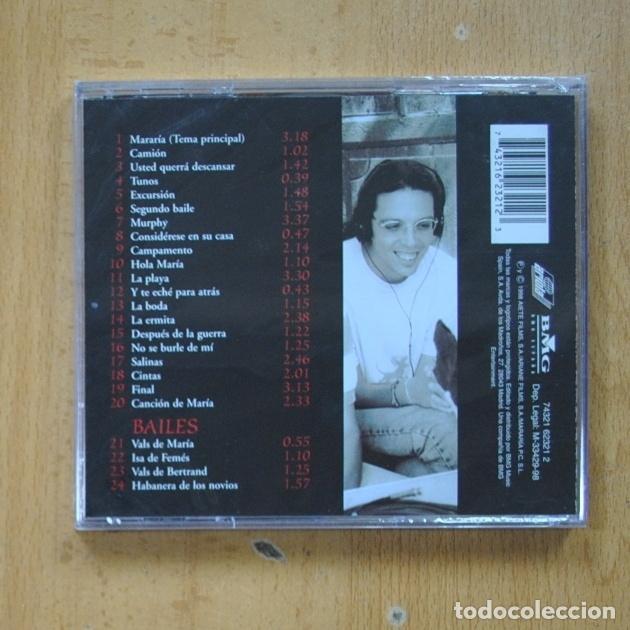 CDs de Música: PEDRO GUERRA / JOAN VALENT - MARARIA - CD - Foto 2 - 287835818