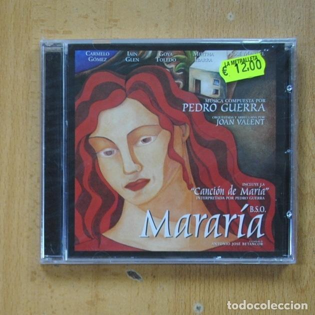 PEDRO GUERRA / JOAN VALENT - MARARIA - CD (Música - CD's Bandas Sonoras)