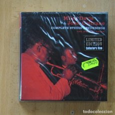 CDs de Música: MILES DAVIS & JOHN COLTRANE - COMPLETE STUDIO RECORDINGS - 6 CD. Lote 287835823