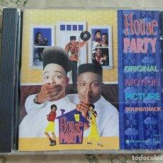 CDs de Música: CD HOUSE PARTY ORIGINAL MOTION PICTURE SOUNDTRACK. Lote 287836588